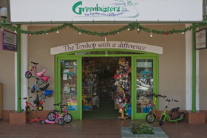 Greenbusters shop in Greenside